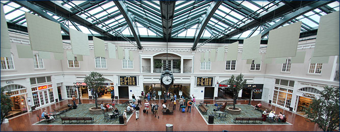 Savannah Airport Lobby