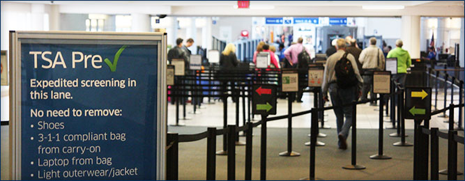 Savannah/Hilton Head International Airport Security Check Point