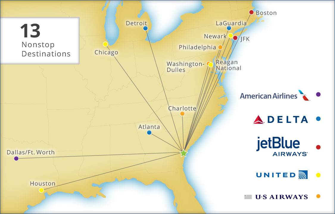 Flights To Savannah Route Map Savannah Hilton Head International Airport